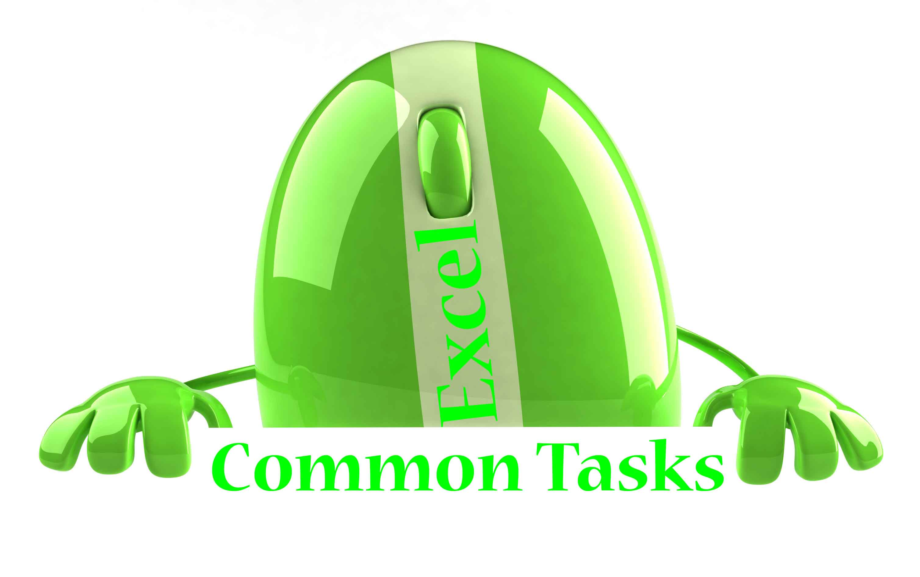 Excel Common Tasks